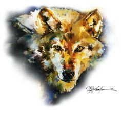 Wolf by Kathy Morton-Stanion