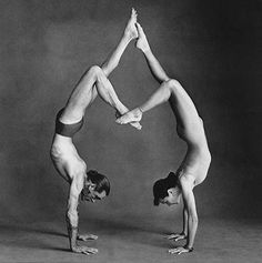 Beautiful acro yoga