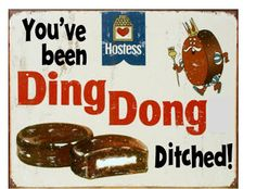 Ding Dong Ditch Sign