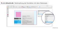 Verknüpfung der Variablen mit dem Datensatz - SalierDruck