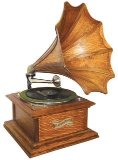 Graphophone, Columbia Phonograph Co, oak case