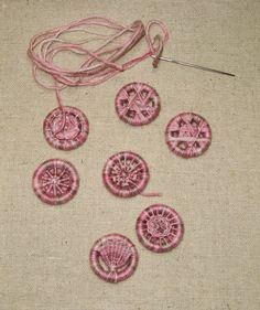 Emma Lulu - Four Generations of Needlewomen: Button Addictions