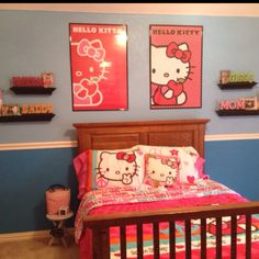 Hello kitty room2 ( Ask My Parents Can I Get My Room Decorated Like This