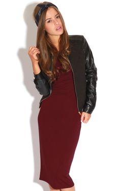 The Kalia Short Sleeve Burgundy Midi Dress. Head online and shop this season's range of dresses at PrettyLittleThing. Midi Dress With Sleeves, Cap Sleeves, Burgundy Midi Dress, Boho, Store, Casual, Clothes, Shopping, Dresses
