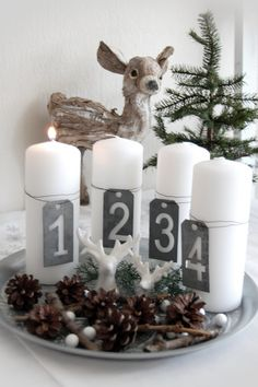 Do you want to keep your Christmas decorations nice, trendy and minimal? How about try something new this holiday season? You may want to try Scandinavian Christmas decorating. Scandinavian, also known as Nordic style, is a trendy and modern decorating& Scandinavian Christmas Decorations, Decoration Christmas, Nordic Christmas, Noel Christmas, Rustic Christmas, Xmas Decorations, Winter Christmas, Christmas Tables, Modern Christmas