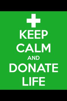 April is Donate Life Month! Be an organ and tissue donor, give the Gift of Life!!