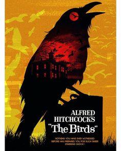 International Man of Misery Horror Movie Posters, Cinema Posters, Book Posters, Fan Poster, Movie Poster Art, Horror Movie Characters, Horror Movies, The Birds Movie, Film Poster Design