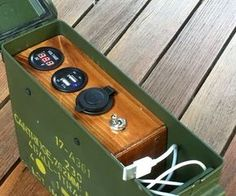 Here& a super-sized power bank, able to keep all your gadgets charged many times over. It offers both USB charging and a accessory socket - with a suitable. Auto Camping, Camping Survival, Emergency Preparedness, Stealth Camping, Kayak Camping, Survival Tools, Outdoor Camping, Diy Electronics, Electronics Projects