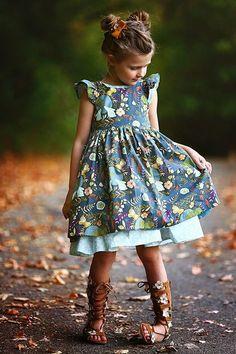 Pearl Dress & Pinafore