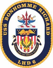 USS Bonhomme Richard Joel was on this ship from San Diego to Japan.  Left it there and brought back the USS ESSEX