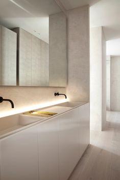 Home Interior Salas .Home Interior Salas Minimalist Architecture, Minimalist Interior, Minimalist Bathroom Design, Bad Inspiration, Bathroom Inspiration, Casa Kardashian, Bathroom Interior Design, Interior Decorating, Interior Livingroom