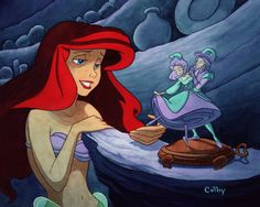 Ariel and Music Box by ~ColbyBluth on deviantART