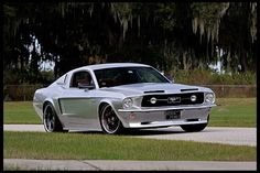 T222 1967 Ford Mustang Resto Mod 2005 Mustang GT with 1967 Body Panels Photo 1