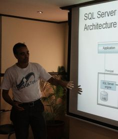 The featured presentation at a recent HSSUG meeting.