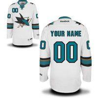 San Jose Sharks Custom Jerseys 001