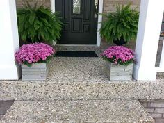 These simple planter boxes and much more inspiration
