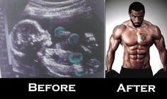 ABS The Secret Revealed by Lazar Angelov: Lazar Before and After Fun Picture