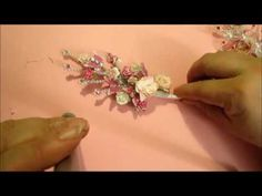How to Create a Wire Wrapped Beaded Sprig - YouTube
