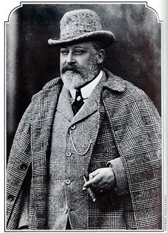 """Albert Edward ('Bertie'), King Edward VII of Great Britain  Born: 1841  Son of: Albert of Saxe-Coburg-Gotha (1819-1861) & Queen Victoria (1819-1901)  Married: Alexandra of Denmark (1844-1925)  Children: Albert Victor, George, Louise, Victoria, Maud    Died: May 1910, Buckingham Palace    """"With King Edward's passing we lost a loveable, wayward and human monarch. He was one who came to decisions by instinct and not by logic and rarely made a mistake in his judgement of men"""""""