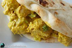 Curry Chicken Salad Sandwich More