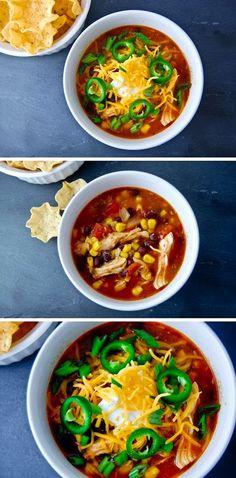 Exclusive Foods: Chicken Enchilada Soup