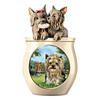 Cookie Capers: The Yorkie Cookie Jar
