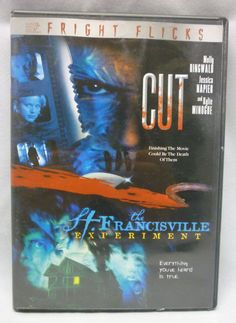 The St. Francisville Experiment & Cut DVD Horror Double Feature - Molly…