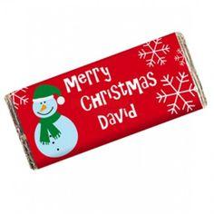 decorated chocolate bars