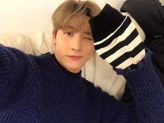 "[#I.M] The weather is cold. I miss you. ""translated by fymonsta-x ϟ take out with full credit."""