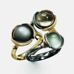 Charlotte Lynggaard rings (outlet in mosman) http://aurumjewels.com.au/aurum--ole-lynggaard.html