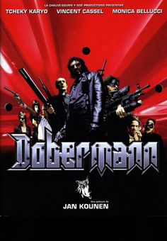 Dobermann - directed by Jan Kounen in 1997 90s Movies, Cult Movies, Vincent Cassel Monica Bellucci, Love Movie, Movie Tv, Bon Film, Great Films, Film Serie, Movie Theater