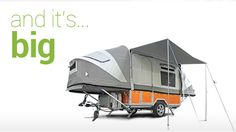 The OPUS is an ultra-lightweight camper trailer. Experience SA in an OPUS Camper Trailer! Off Road Camper Trailer, Trailer Tent, Camper Caravan, Camper Trailers, Camping Glamping, Camping Gear, Camping Gadgets, Camping Hammock, Camping Hacks