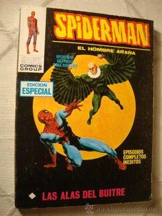 VERTICE MARVEL COMIC SPIDERMAN SPIDER-MAN VOL.1 Nº 19 LAS ALAS DEL BUITRE RQ EXCELENTE ESTADO!!