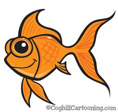 https://flic.kr/p/4iVHsM | Cartoon Goldfish Illustration | This cartoon goldfish illustration was created for an aquarium illustration which is being used as part of ongoing work for an aquarium water treatment company's branding redesign. I really liked how the goldfish came out and wanted to give him a closeup.  I have worked up mascot characters, packaging redesign and currently gearing up to do some other print related illustration & redesign for various documentation.