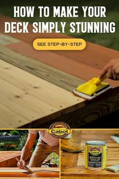 Woodworking Crafts, Woodworking Plans, Diy Bedroom Decor, Diy Home Decor, Deck Makeover, Dollar Tree Decor, Diy Home Repair, Decks And Porches, Home Repairs