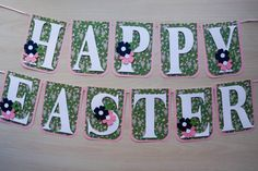 Happy Easter Banner   Beautiful and Detailed  by FinePaperCrafts