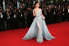 Li Bingbing in Zuhair Murad with Cindy Chao jewelry. See all the best looks from the 2015 Cannes Film Festival.