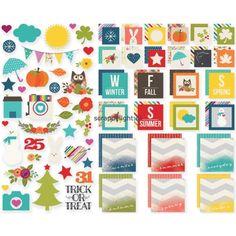Simple Stories | Sn@p! Seasons Insta Squares & Pieces | Scrapdelight Scrapbookwinkel