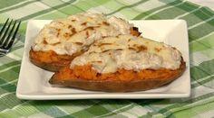 Harley Pasternak's Sweet  Potato  Tuna Melt