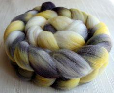 Merino Wool Roving - Hand Painted Felting or Spinning Fiber on Etsy, $20.24 CAD