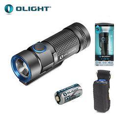 Olight s2a baton Lampe torche CREE xm-l2 DEL 550 LM avec AA Batterie Gris