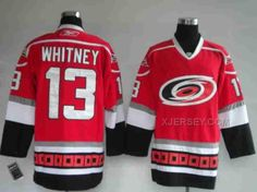 http://www.xjersey.com/hurricanes-13-whitney-red-jerseys.html Only$46.00 HURRICANES 13 WHITNEY RED JERSEYS Free Shipping!