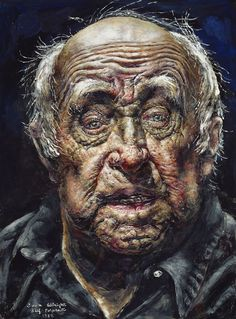 Self-Portrait  - Ivan Albright
