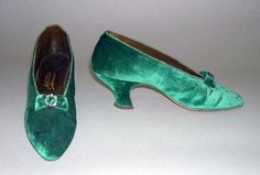 1900 evening slippers
