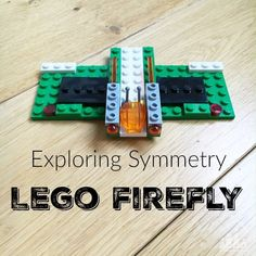 Set your kids a Lego challenge to a make a piece of symmetrical Lego art or a symmetrical lego model to explore the concept of symmetry. We had fun creating and making a symmetrical Lego Firefly. Excellent activity for early elementary aged kids 1st, 2nd and 3rd Grade.