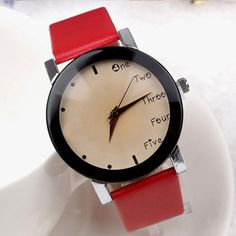 Summer Fabric Strap Watch Simple Style Men Casual Watch Fahion Women Girls Dress Watch Everything Is OK Wristwatch
