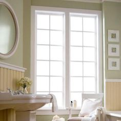 For if we got a glass door for the bedroom, instead of blinds on it just do this:Gila 4 ft. x 6.5 ft. Frosted Privacy Window Film-PFW486 - The Home Depot