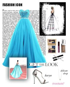 """Get the Look: Met Gala 2016"" by inglewooddiva on Polyvore featuring Fashion Fair, ShoeDazzle, GetTheLook and MetGala"
