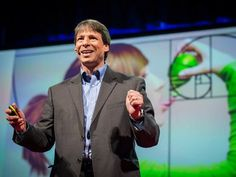 """The Magic of Fibonacci Numbers  by Arthur Benjamin:  Math is logical, functional and just ... awesome. Mathemagician Arthur Benjamin explores hidden properties of that weird and wonderful set of numbers, the Fibonacci series. (And reminds you that mathematics can be inspiring, too! """"Mathematics is not just solving for x, it's also figuring out 'y' """") #Math #Fibonacci_Numbers"""