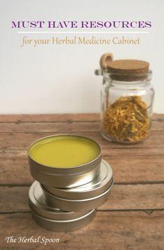 Must Have Herbal Medicine Cabinet Essentials - The Herbal Spoon